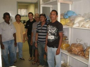 Chefe de Gabinete Ronaldo Souza, Layana Jung Gerente do Laboratório de Pré-medido e associados ACAM