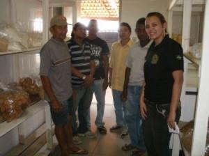 Chefe de Gabinete Ronaldo Souza, Gerente do Laboratório de Pré-medido Layana Jung e Associados da ACAM